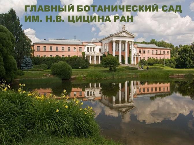 Ботанический сад имени цицина реферат 3709